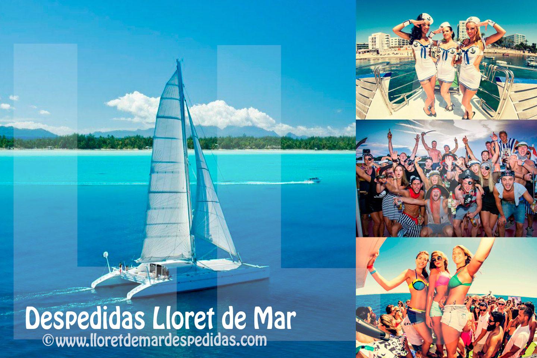 Fiestas en Barco Catamaran en Lloret de Mar